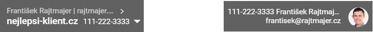 Číslo účtu Ads