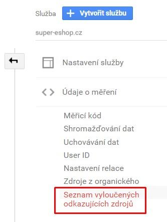 Referral Exclusion List v Google Analytics